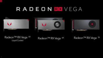 Выход Radeon RX Vega 64 и RX Vega 56