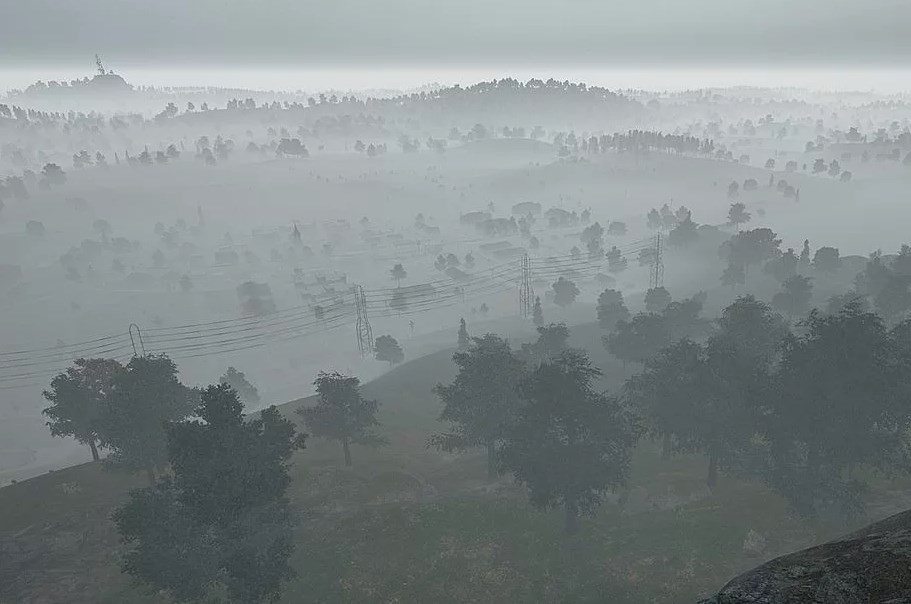 Как туман на карте Playerunknown's Battlegrounds повлияет на вашу игру?