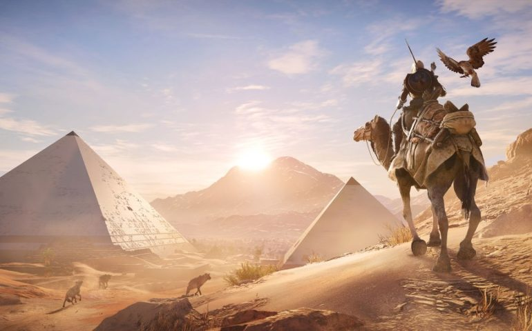 Прохождение Assassins Creed: Origins – убийство первого Медунамона (#3)