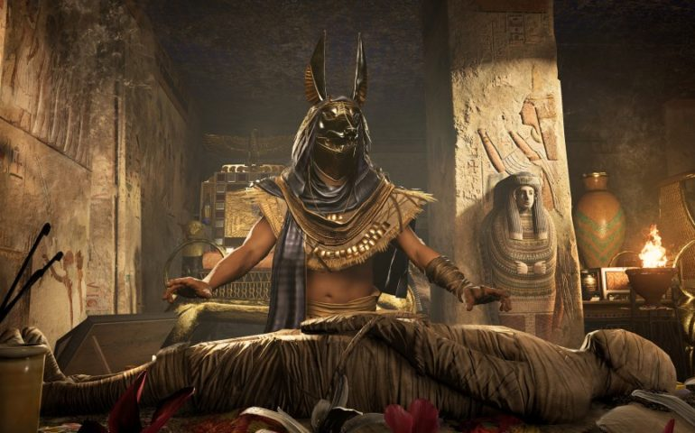 Прохождение Assassins Creed: Origins – открытие новых территорий (#8)