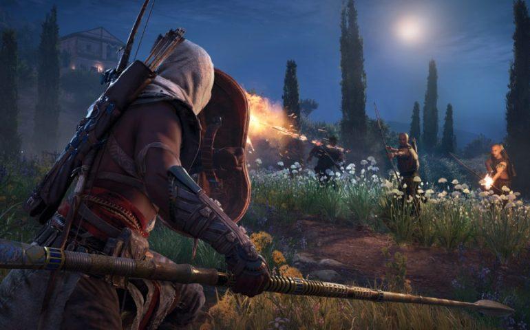 Прохождение Assassins Creed: Origins – первое морское сражение