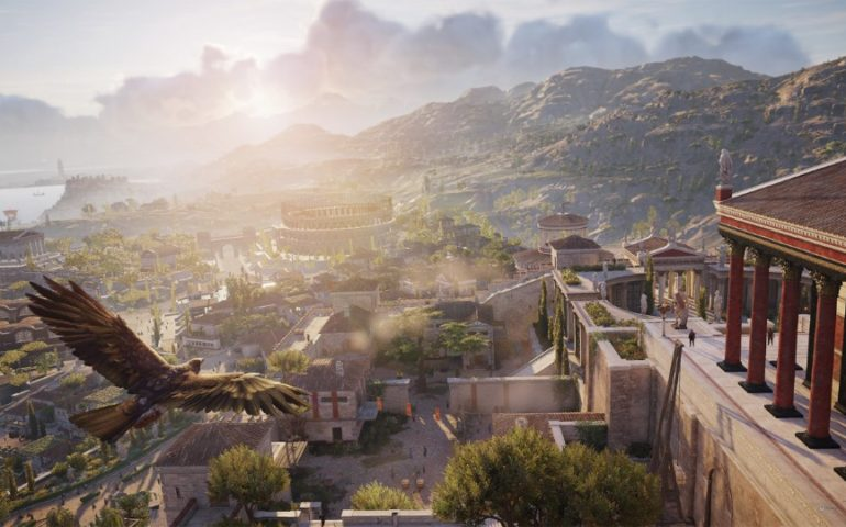 Прохождение Assassins Creed: Origins – убийство Ящерицы (#13)