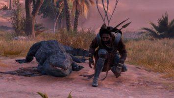 Прохождение Assassins Creed: Origins – убийство Крокодила (#16)
