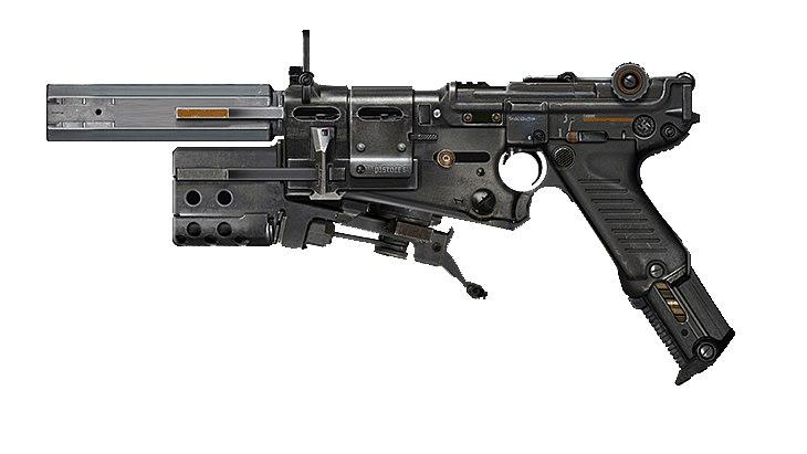 Пистолет wolfenstein new colossus