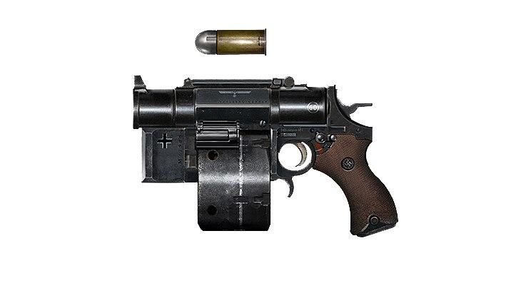 фото Боевой пистолет wolfenstein new colossus