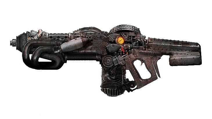 Дизельная винтовка
