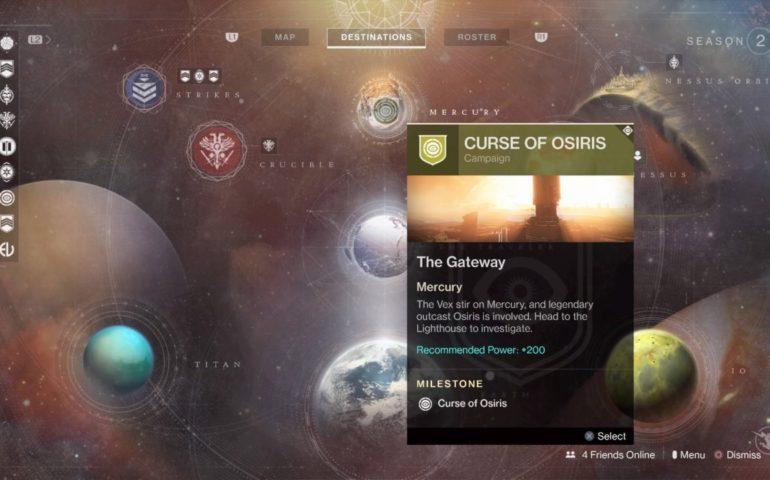 Destiny 2 Curse of Osiris DLC – Как получить доступ к новому расширению и нововведения