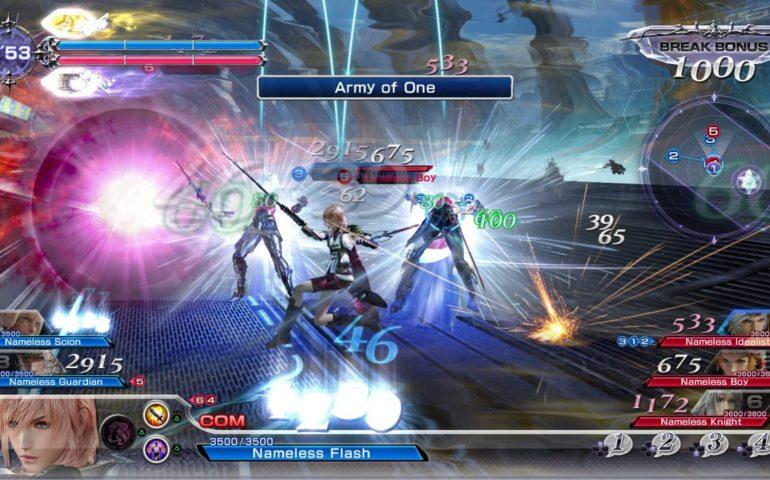 Гайд Dissidia Final Fantasy NT – список доступных персонажей