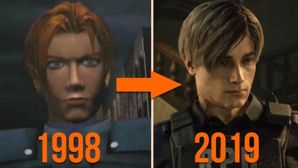 графика Resident Evil 2