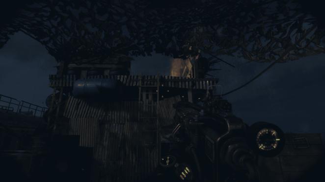 бандит на крыше