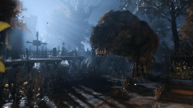 Мутировавший Медведь Метро Исход