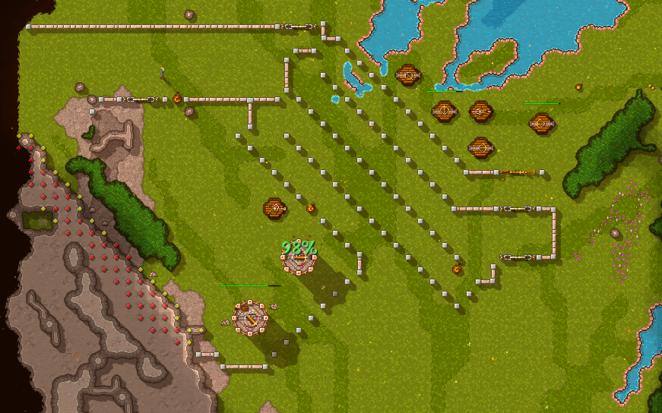 фото оборонительные сооружения  Rise to Ruins как играть