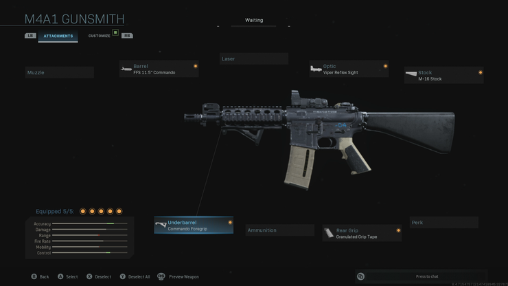 фото M4A1 Call Of Duty Warzone