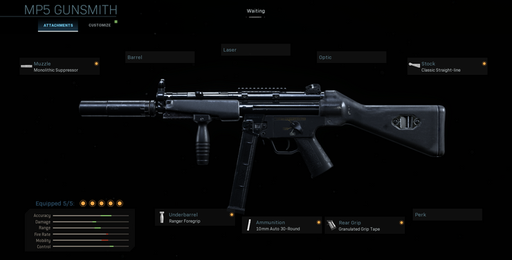 фото MP5 Call Of Duty Warzone