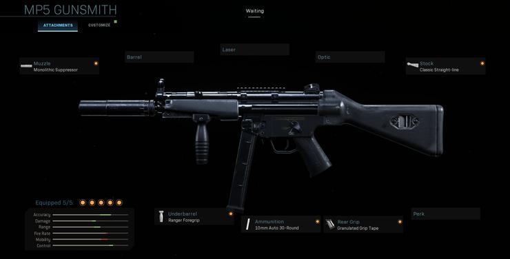 фото MP5 Call Of Duty Warzone