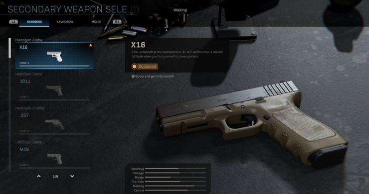 Call of Duty Modern Warfare X16