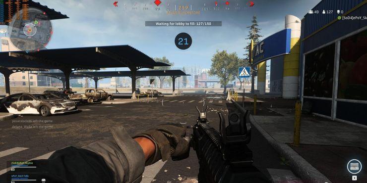 Супермаркет Call Of Duty режим Warzone