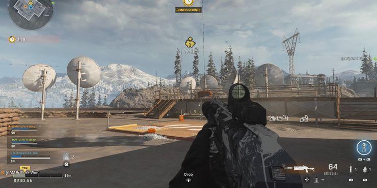 фото Телевизионная Станция Call Of Duty режим Warzone