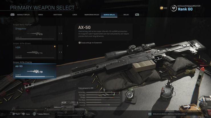 AX-50 снайперская винтовка