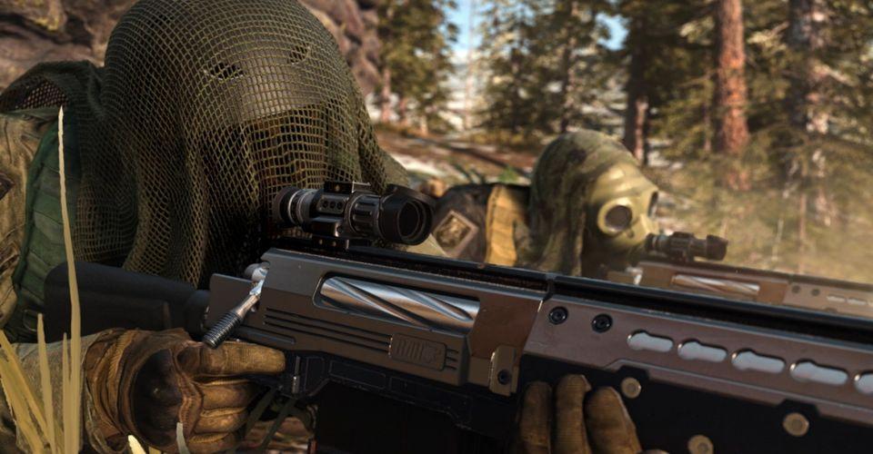 Warzone Лучшая снайперская винтовка