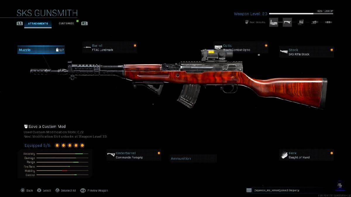 фото винтовки SKS Call of Duty