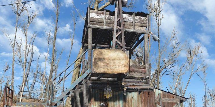 Сторожевой пост Fallout 4