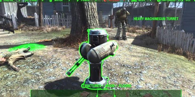 Турель Fallout 4