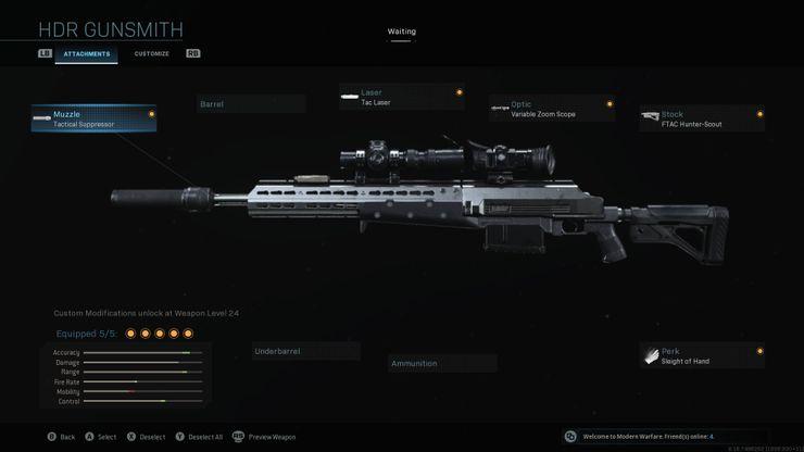 фото HDR Warzone Лучшая снайперская винтовка