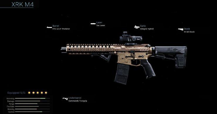 Штурмовая Винтовка XRK M4